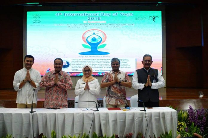 Yoga Festival 2018 Press Conference (Ministry of Tourism). balipicturenews.com