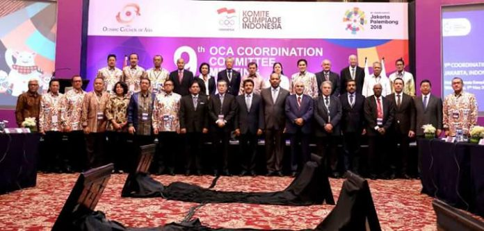 The 2018 Asian Games Commitee Meeting. (Kemenpar) balipicturenews.com