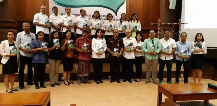 National Seminar and Book launching by STP Bali. Balipicturenews.com