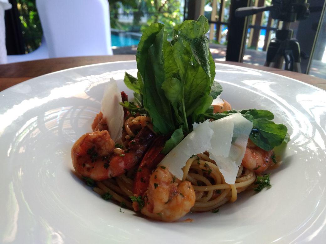 Spaghetti Gamberoni. balipicturenews.com
