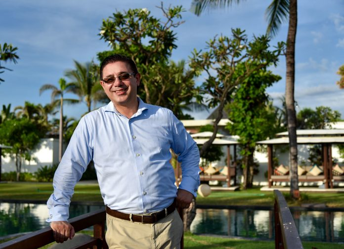 Christian Gerart, the new General Manager of The Samaya Seminyak. balipicturenews.com