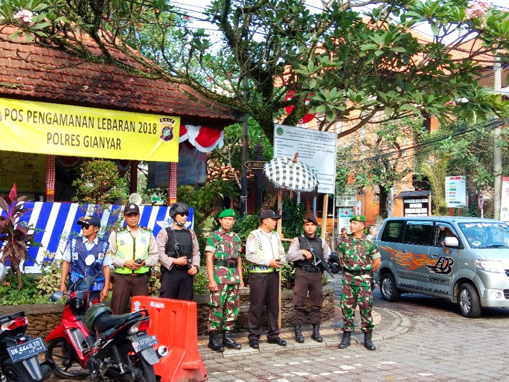 The monitoring of tourism objects in Ubud.