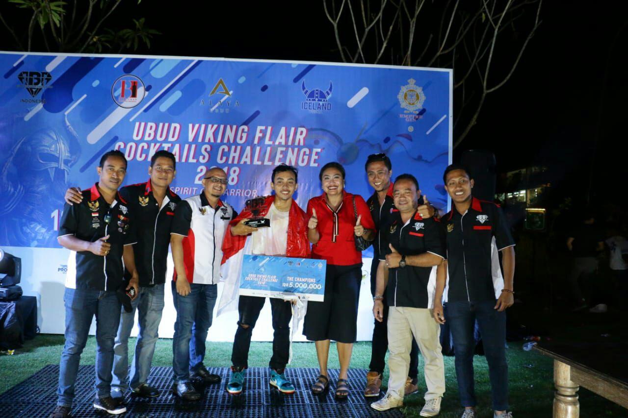 The Ubud Viking Flair and Cocktails Challenge 2018