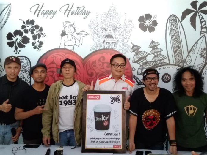 Slank and Circle K released SlanKopi in Bali on Monday.