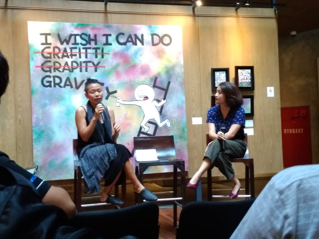 Press Conference of 'Always and Never the Same' at Artotel Sanur on Wednesday.