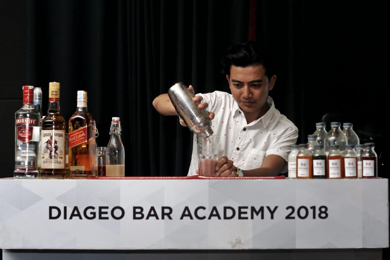 Diageo Bar Academy.