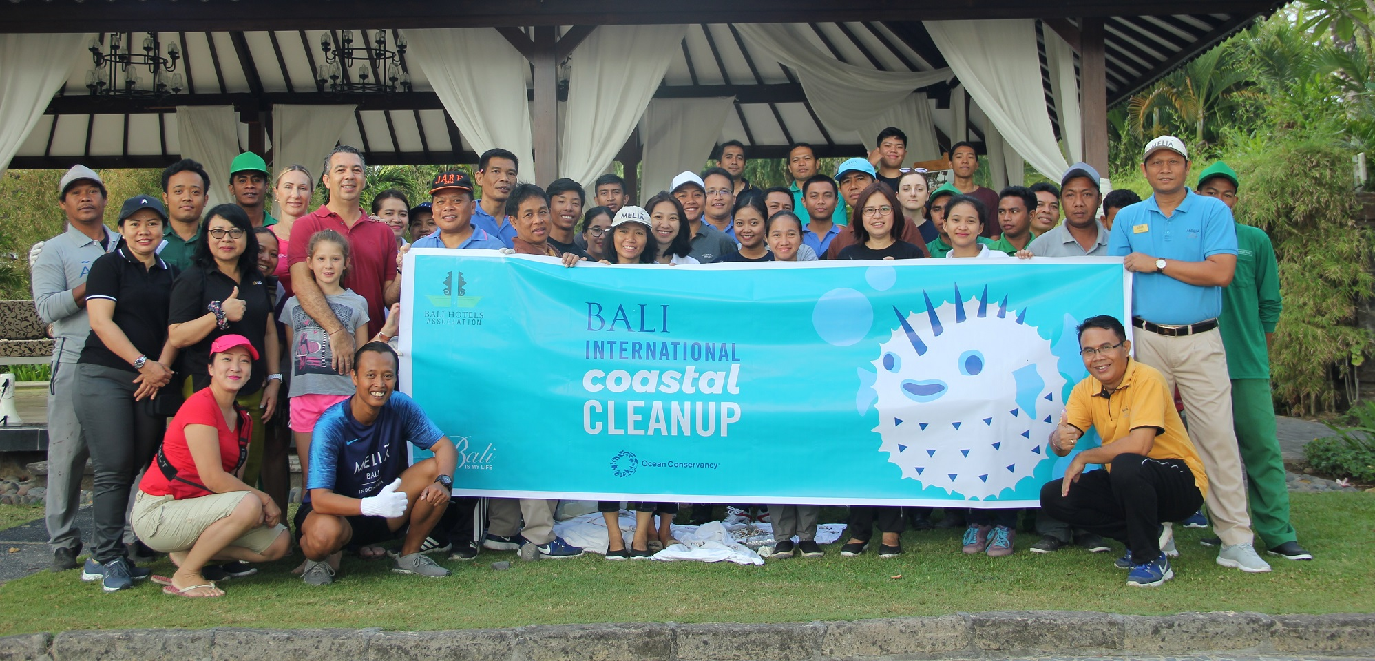 Fighting For Trash Free Seas Melia Bali Participates In