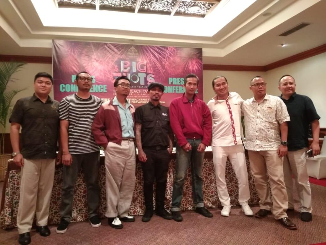 Press conference of Big Shot at Ayodya Resort Bali on Saturday.