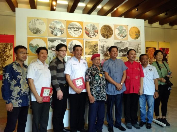 Exhibition of Balinese - Chinese painters titled Patience is Earth at Sudakara Art Space, Sudalama Suites & Villas Sanur.