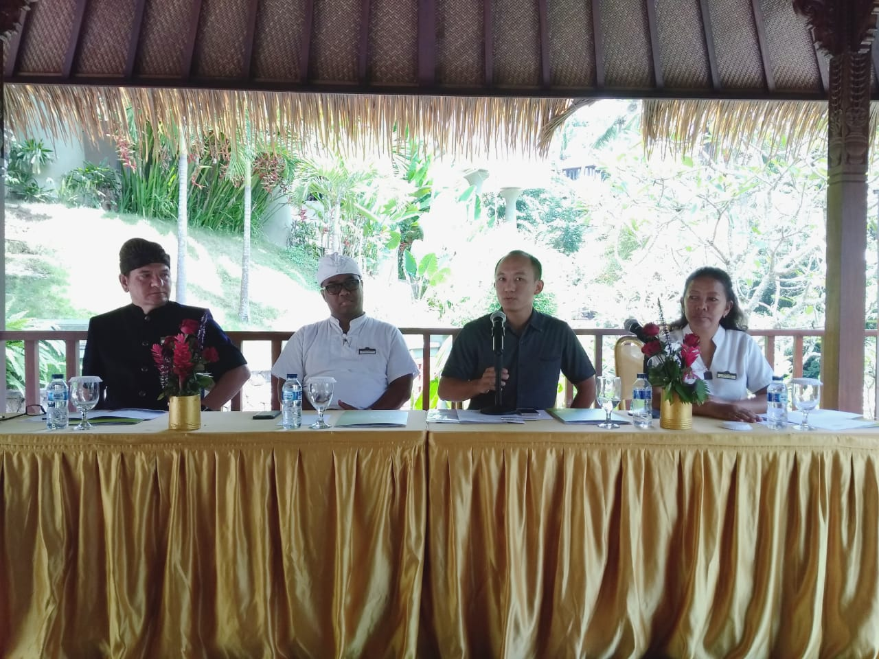 Press COnference of Wellness,  Health,  Beauty,  and  Medical  Spa  Clinic launching at SereS Springs Resort & Spa, Ubud.