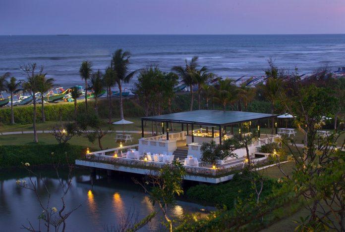 The Beach Pavilion at Rumah Luwih Beach Resort.