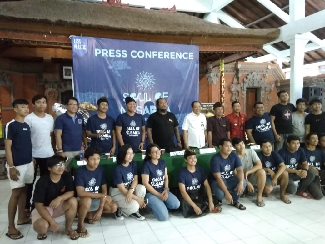 Press Conference of Soul of Nusa Dua.
