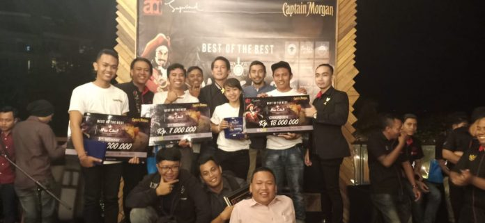 Winners of MixoChef Mixologist Competition 2019 Best of the Best.