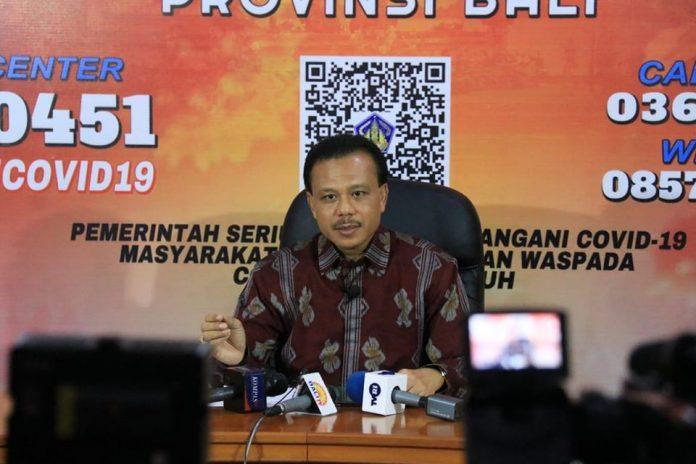 - Chairman of Bali COVID-19 Task Force Dewa Made Indra