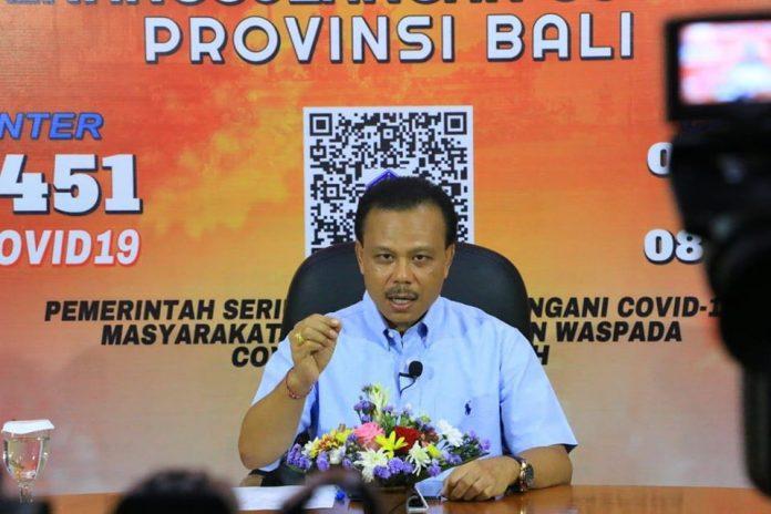 - Chairman of Bali COVID-19 Task Force Dewa Made Indra.