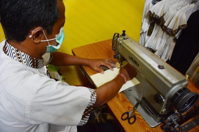 InterContinental Bali Resort Produces Homemade Facemasks
