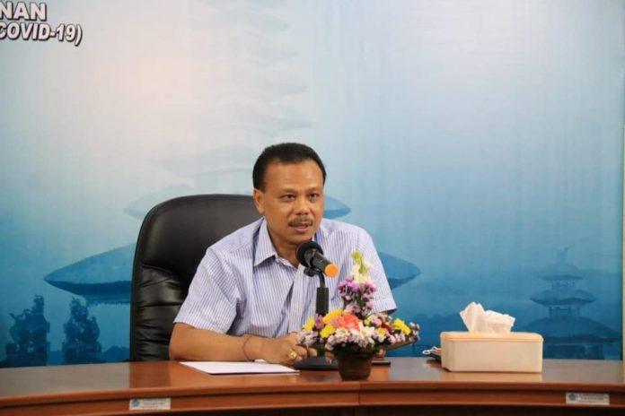 Deputy Chairman of Bali COVID-19 Task Force Dewa Made Indra. (Humas)