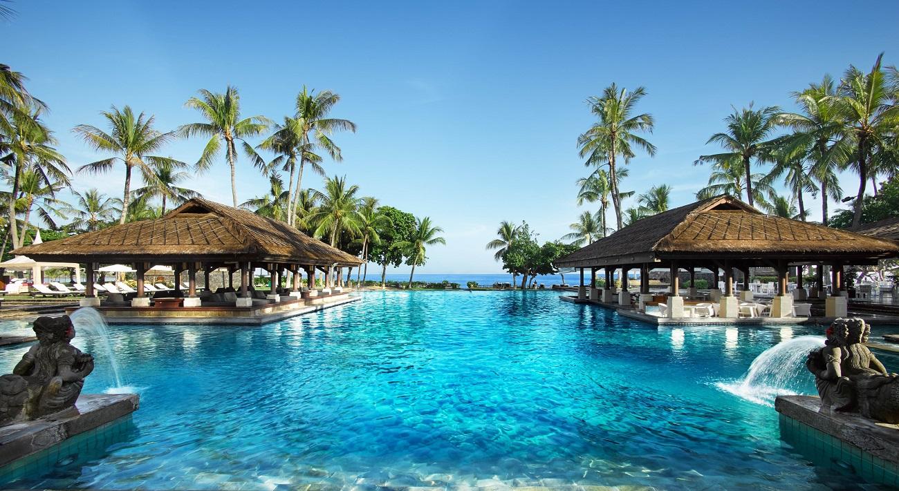 Main pool at InterContinental Bali Resort.
