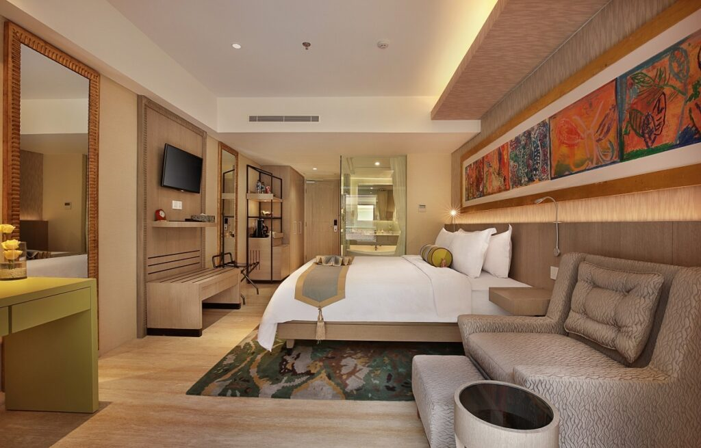 Premium Room at SenS Hotel & Spa + Conference Ubud Town Centre.