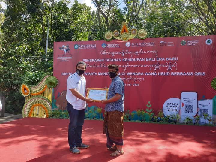Purana Boutique Resort receives New Normal Protocols Certificate from Gianyar Tourism Office.