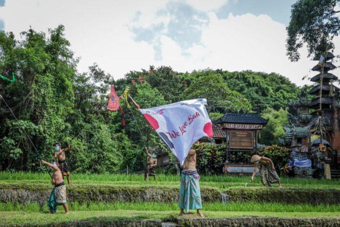 Launching of We Love Bali program on Wednesday. (Picture: kemenparekraf)