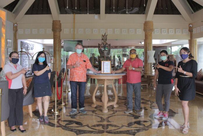 SereS Springs Resort and Spa Singakerta, Ubud Receives New Normal Certification.
