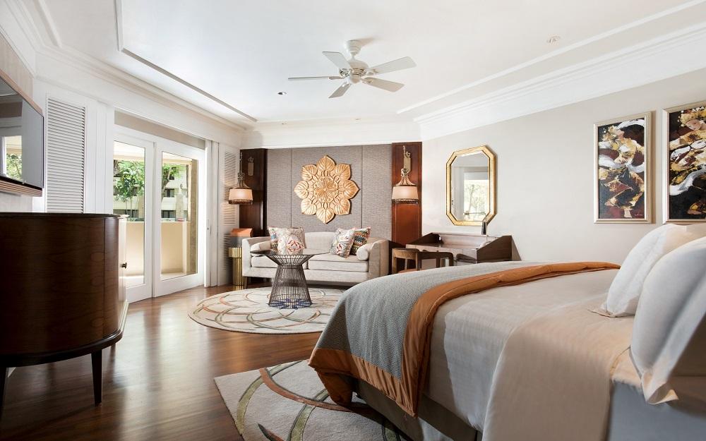 Jimbaran Deluxe Room at InterContinental Bali Resort.