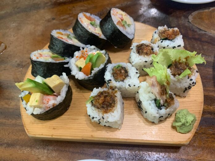 Sushi at Take Authentic Japanese Cuisine.