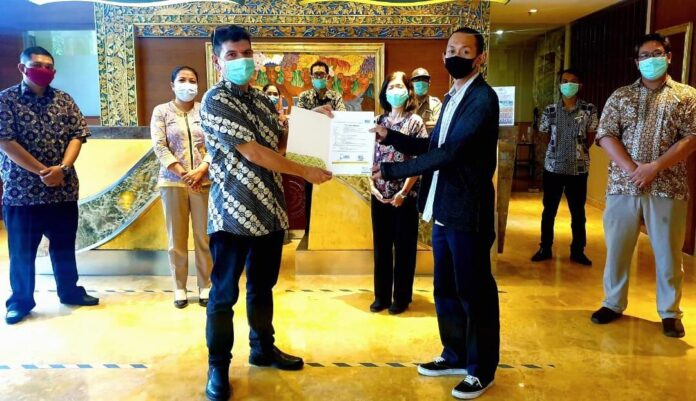 SenS Hotel & Spa + Conference, Ubud Town Centre received Cleanliness, Health, Safety and Environmental Sustainability (CHSE) certificate.