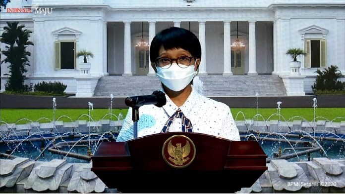 Minister of Foreign Affairs of Indonesia Retno Marsudi.