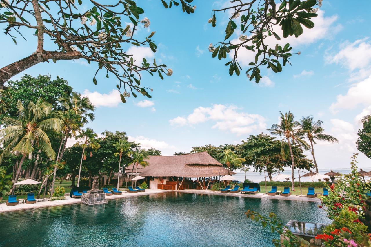 Main Pool Belmond Jimbaran Puri.