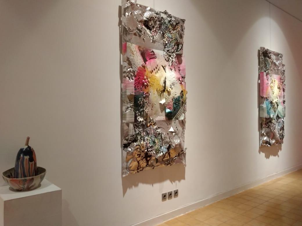 Art exhibition at Santrian Gallery, Sanur.