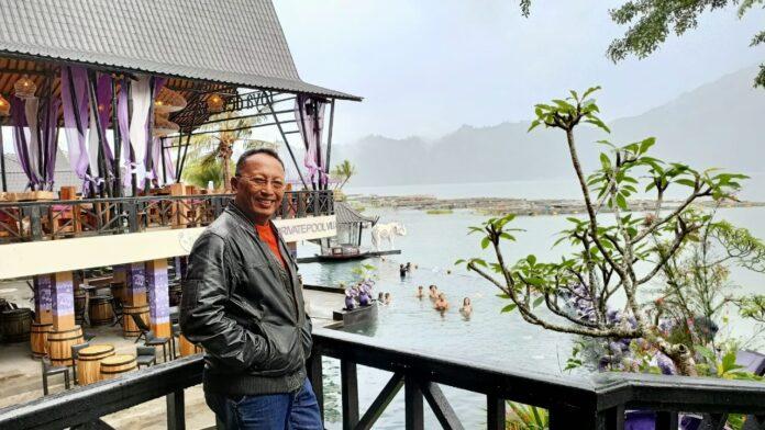 Chairman of the Indonesian Hotel and Restaurant Association (PHRI) Bangli Regency, Dr. I Ketut Mardjana.