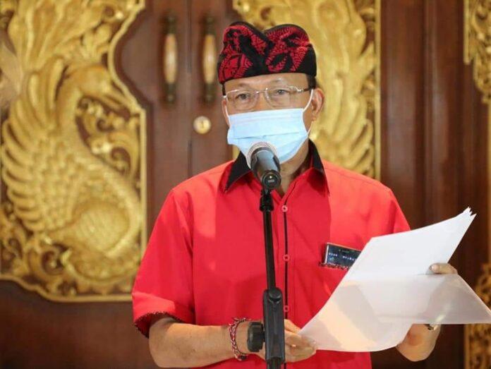 Bali Governor Wayan Koster. (Picture: humas pemprov Bali)