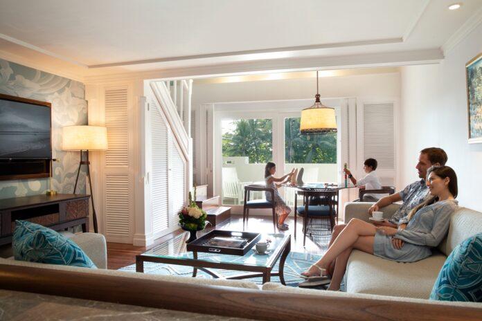 Premium Duplex Suite Family at Intercontinental Bali Resort.