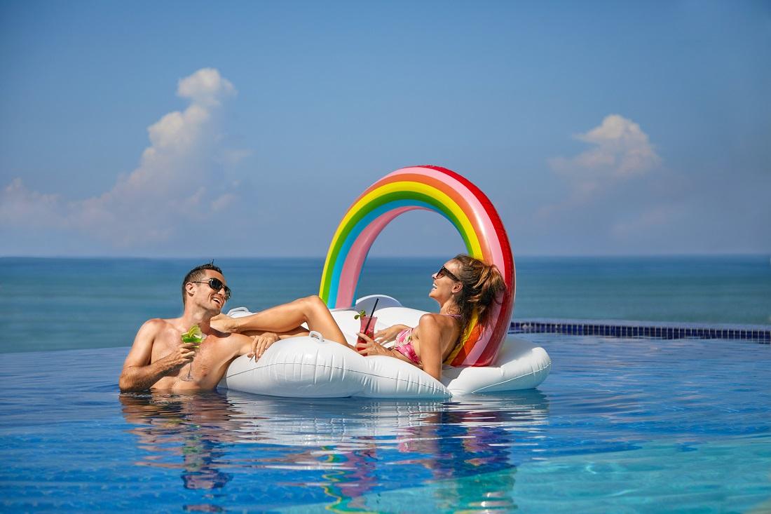 Rooftop Pool at Aloft Bali Seminyak.