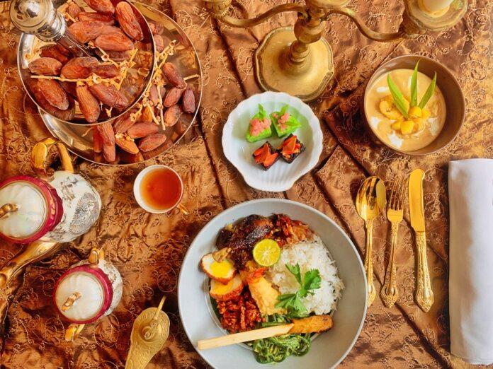 InterContinental Bali Resort's Breakfasting Menu.
