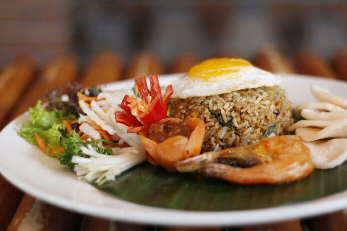 Seafood Fried Rice at Ketumbar Bistro & Bar.