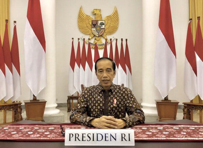 President Jokowi. (BPMI Setpres)